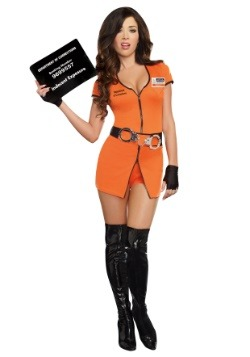 Women's Locked Up Costume