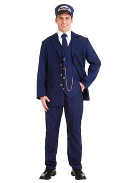 North Pole Train Conductor Adult Costume