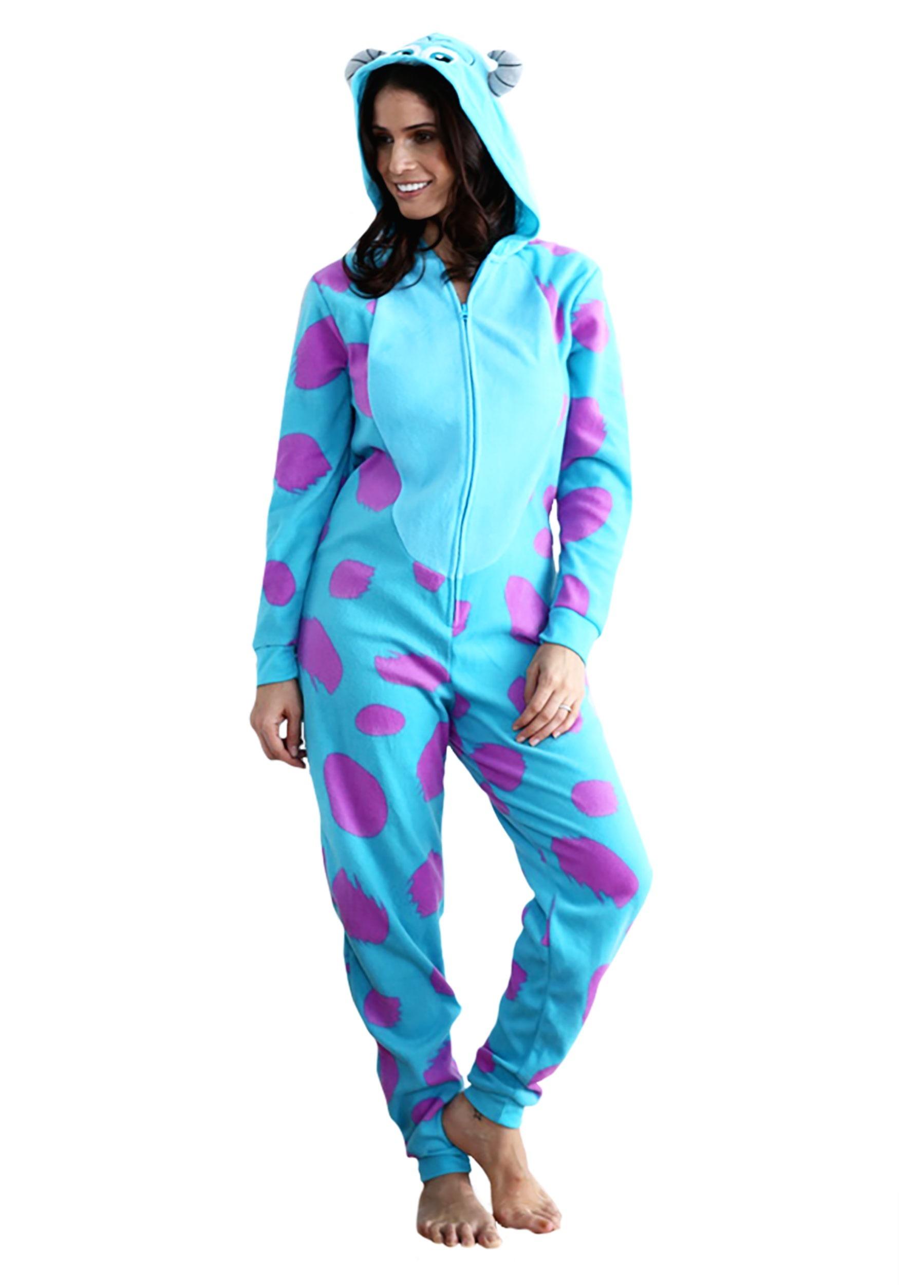 Sulley Pajama Costume for Women 049de6589f7d