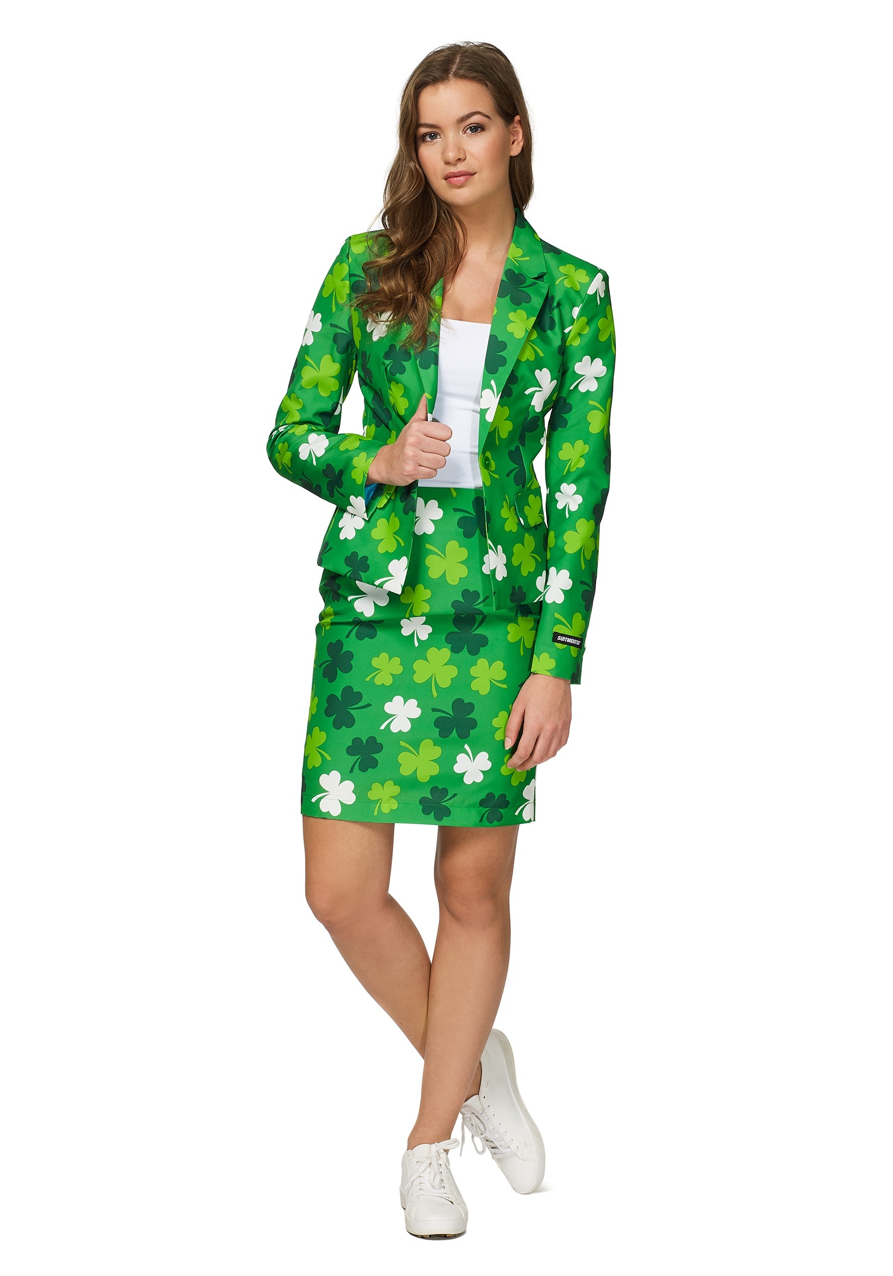 aae7ac45c Womens Green St. Patricks Day Suitmiester