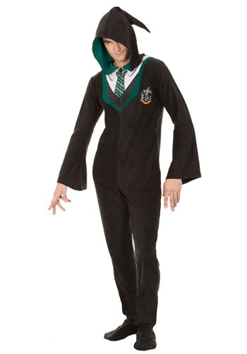 Harry Potter Slytherin Adult Union Suit