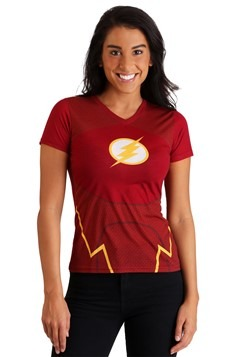 DC Comics The Flash Women's Character Costume T-Shirt