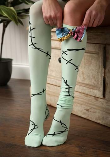 Nightmare Before Christmas Sally Women's Over The Knee Socks