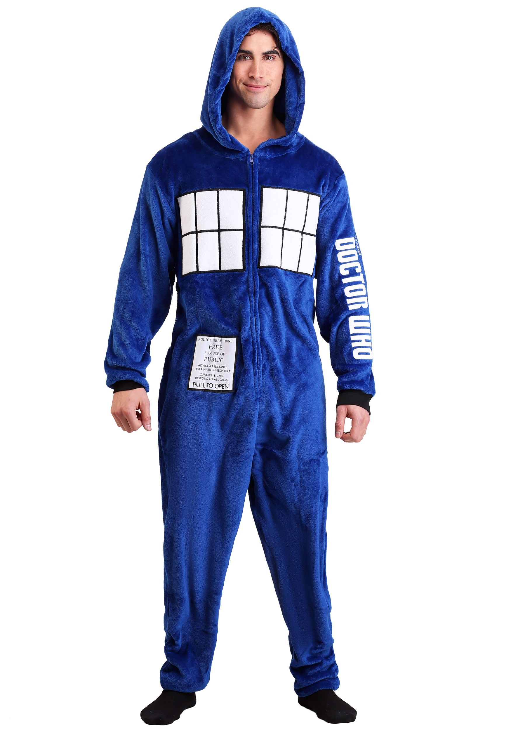 Doctor Who Tardis Union Suit for Men 6ec242c4f
