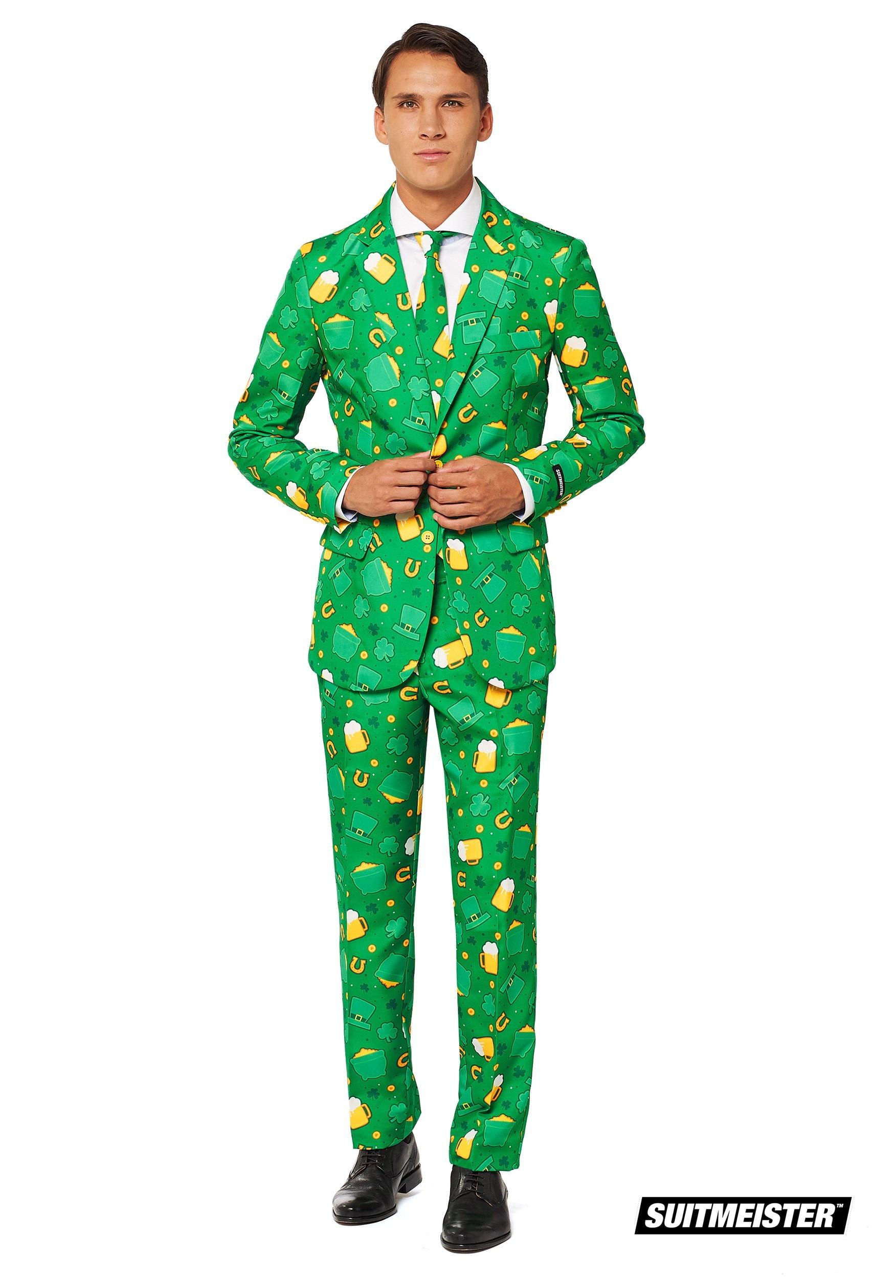 98023643 SuitMeister St. Patrick's Day Men's Suit