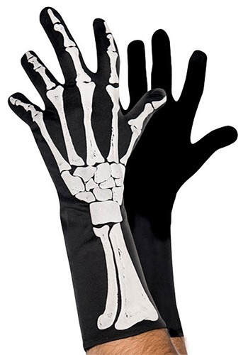 Adult 3D Skeleton Gloves