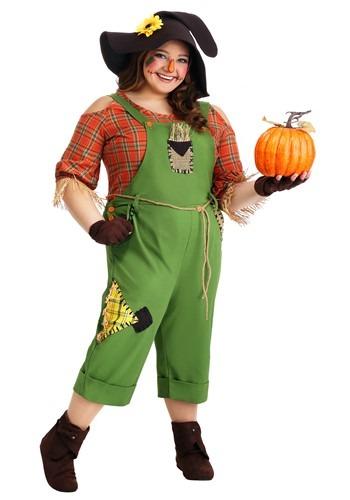 Women's Scarecrow Costume Plus Size