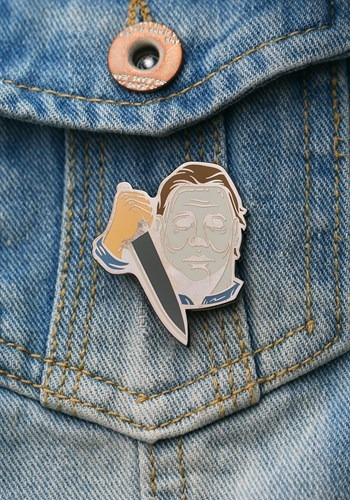 Enamel Michael Myers Pin