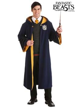 Vintage Harry Potter Hogwarts Hufflepuff Adult Robe