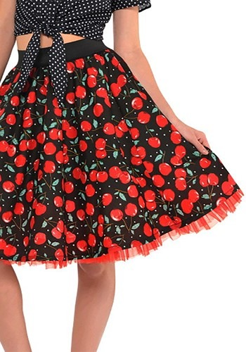 Rockabilly Cherry Skirt