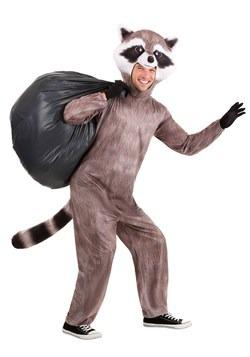 Adult Realistic Raccoon Costume Main 2