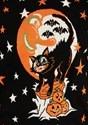 Adult Vintage Halloween Cat Halloween Sweater alt3