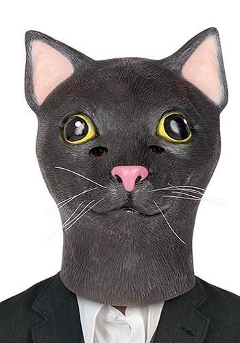 Adult's Black Cat Mask