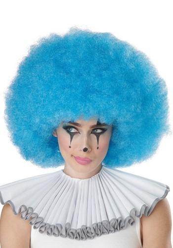 Blue Jumbo Afro Wig
