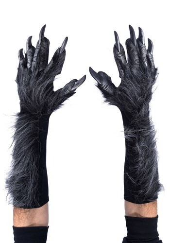 Grey Wolf Adult Gloves