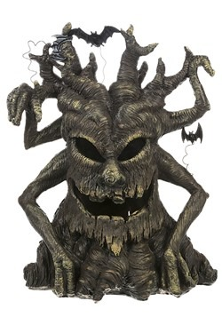 Large Spooky Light Up Tree Figurine