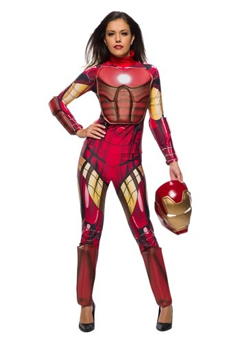 Marvel Womens Iron Man Costume