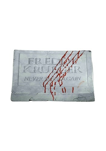 Freddy Krueger Footstone Decor