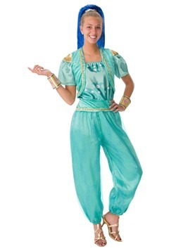 Shimmer and Shine Womens Shine Deluxe Costume
