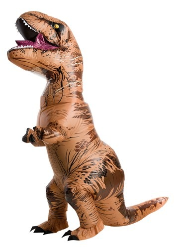 Jurassic World Plus Size Inflatable T-Rex Costume