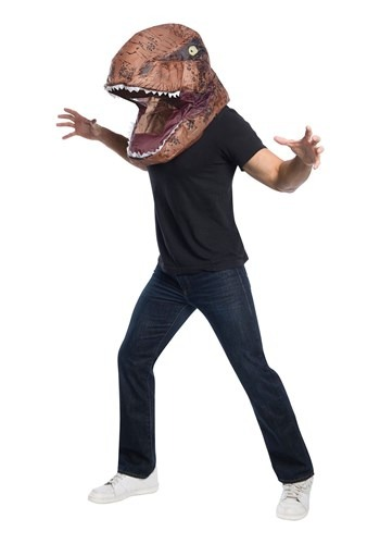 Jurassic World Adult Inflatable T-Rex Head Mask