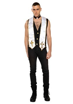 Mens Sexy Priest Costume