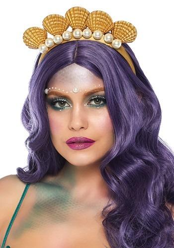 Pearl Shell Mermaid Headband