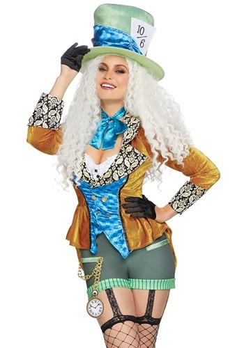Womens Classic Mad Hatter Costume
