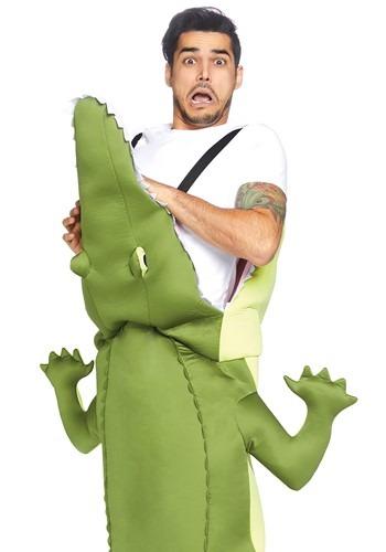 Adult Man Eating Alligator Costume