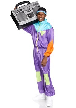 Men's Awesome 80's Ski Suit Costume