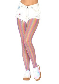 Women's Shimmer Rainbow Tights