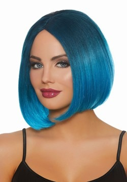 Blue Ombre Wig
