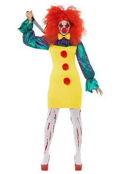 Women's Classic Horror Clown Costume