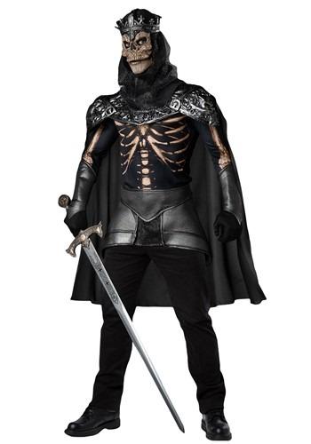 Men's Skeleton King Costume