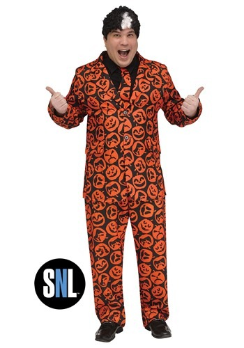 Saturday Night Live Adult Plus Size David S. Pumpkins Costum