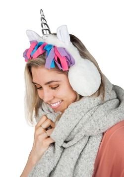 Unicorn Mane Ear Muffs