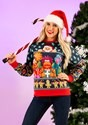 Fraggle Rock Sublimated Adult Ugly Christmas Sweater alt8