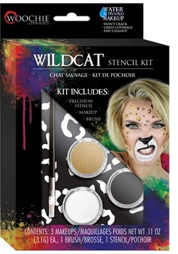 Wildcat Stencil and Makeup Kit
