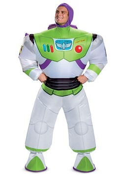 Toy Story Adult Buzz Lightyear Inflatable Costume