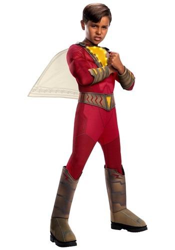 Shazam! Deluxe Child Light-Up Costume