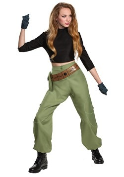 Kim Possible (Animated) Womens Kim Possible Costum