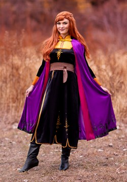 Frozen 2 Womens Anna Deluxe Costume
