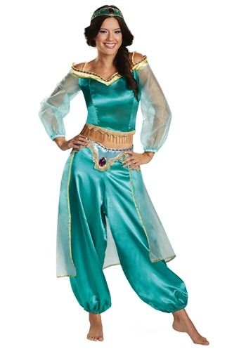 Aladdin Animated Women's Jasmine Prestige Costume