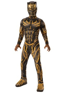 Black Panther Killmonger Battle Suit Deluxe Child