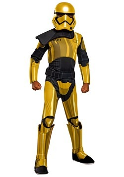 Star Wars Golden Stormtrooper Commander Pyre Deluxe Child Co