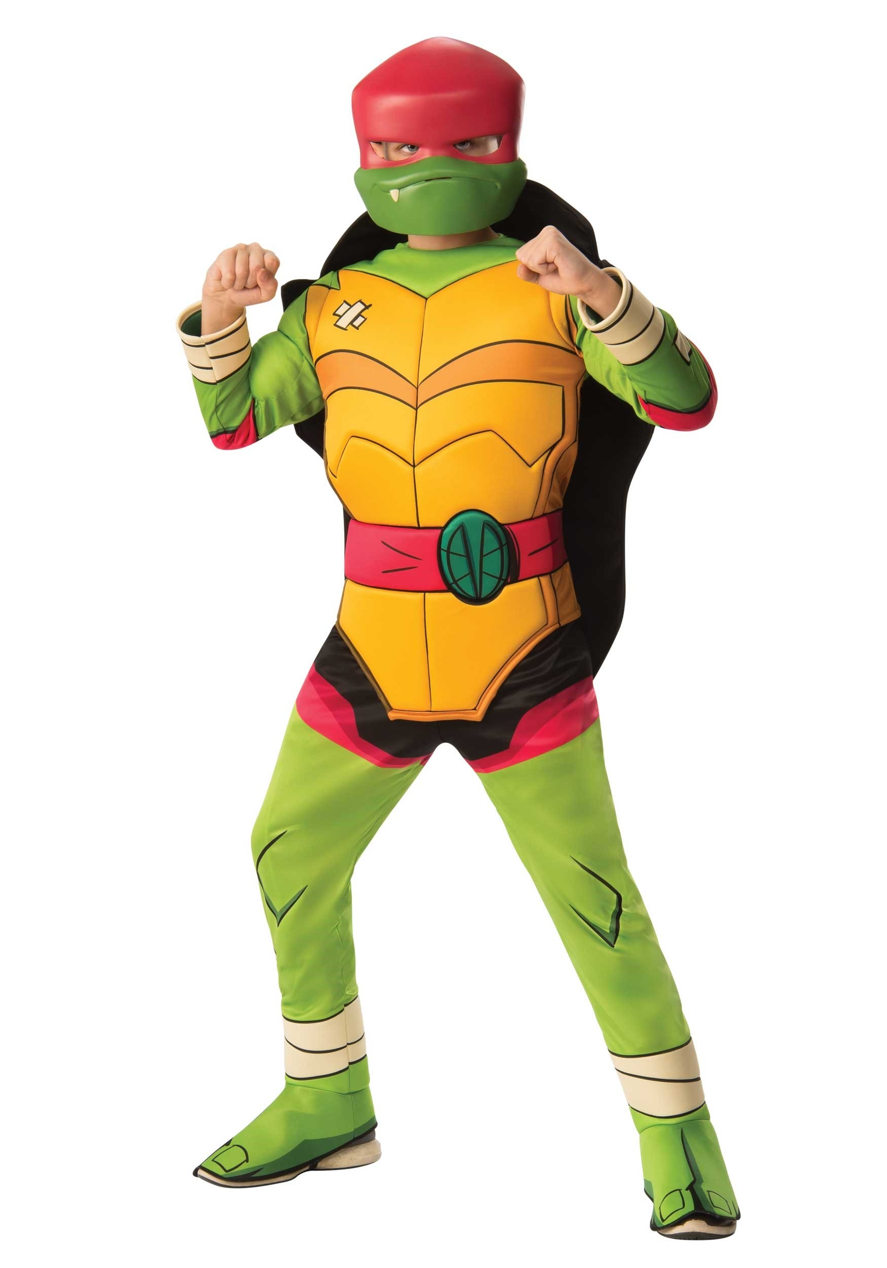 Teenage Mutant Ninja Turtles 2 Deluxe Raphael Adult Costume