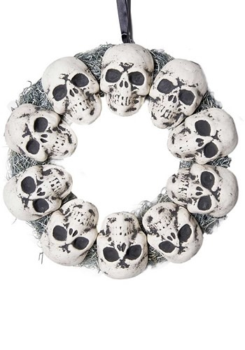 Circle of Skulls Wreath