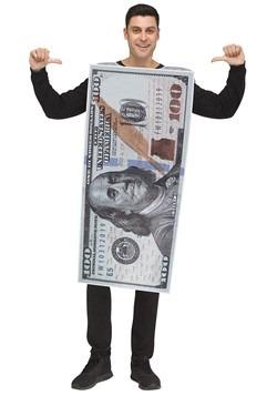 Adult 100 Dollar Bill Costume