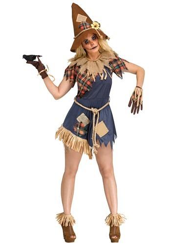 Women's Scary Scarecrow Costume