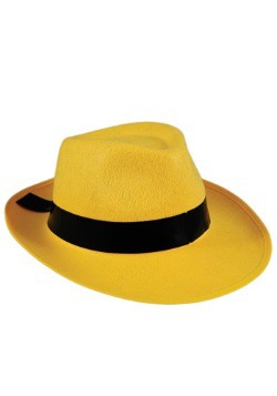 Yellow Fedora Hat